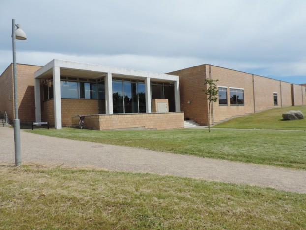 Kulturhuset Aksen samt bibliotek